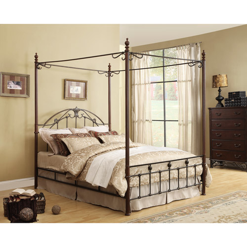Adison III Queen Poster Canopy Bed