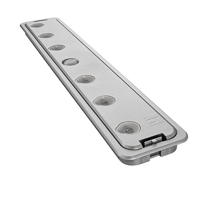 Tresco Lighting TCHFIT.CNI 5000K Fit-Battery Motionsensor Powered LED Light, Nickel - image 1 de 1