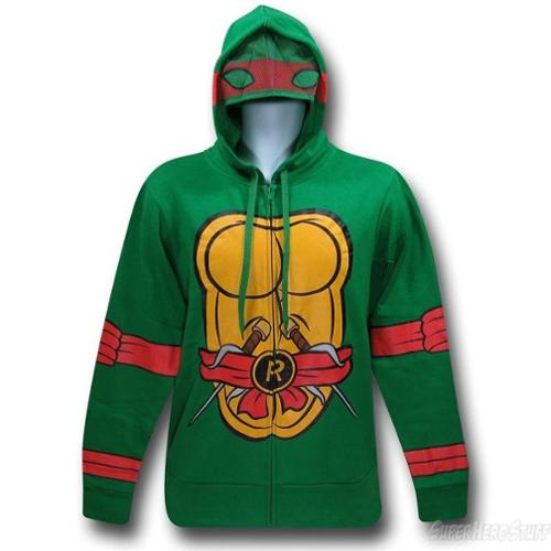 I Am Raphael Zip Up Hoodie