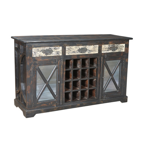 MOTI Furniture Parker Wine Sideboard