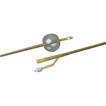 Bardex whistle tip latex urethral catheter 18 fr, 16