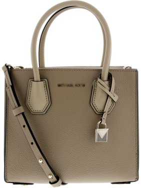 Product Image Michael Kors Women s Medium Mercer Crossbody Bag Leather Cross  Body - Truffle 0e9f47ae6bab7