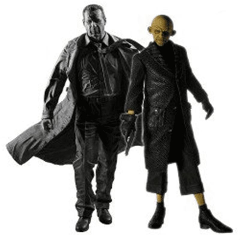 Sin City Series 1 Hartigan & Yellow Bastard Action Figure 2-Pack