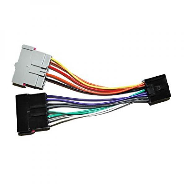 ford radio adapter wire wiring harness old to new style factory rh walmart com ford stereo wiring harness adapter 98 Ford Ranger Antenna Wiring