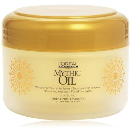 L'Oreal Mythic Oil Nourishing Masque 6.7 oz (Pack of 2)