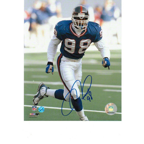 NFL - Jesse Armstead New York Giants Autographed 8x10 Photograph