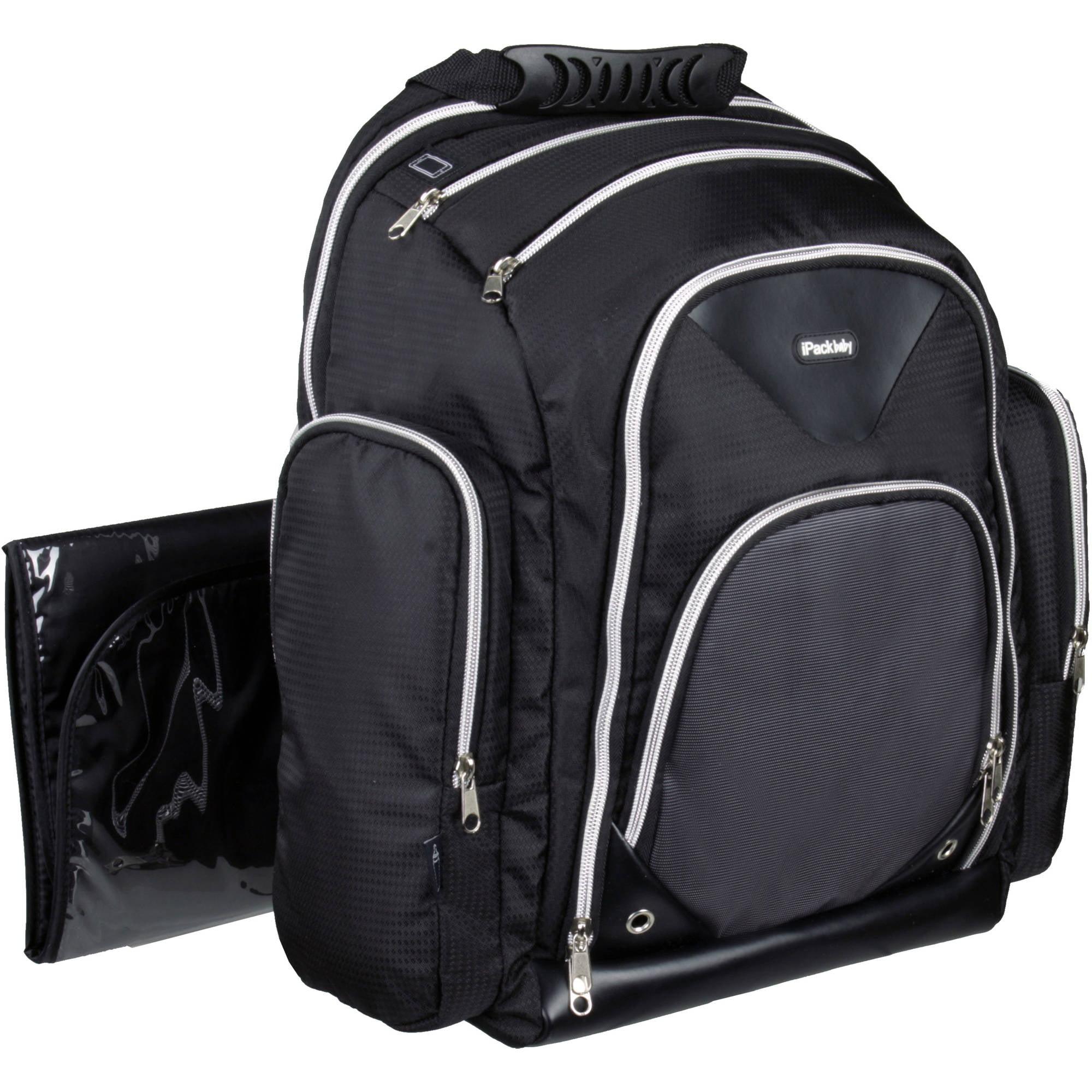 Urbini Turni Travel System With Ipack Baby Diaper Bag Backpack Value Bundle Walmart Com