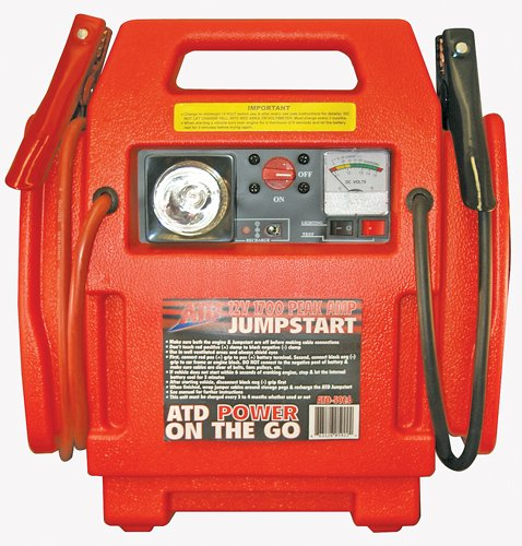 ATD Tools 5926 12v 1700 Peak Amp Jump Start With Built-in...