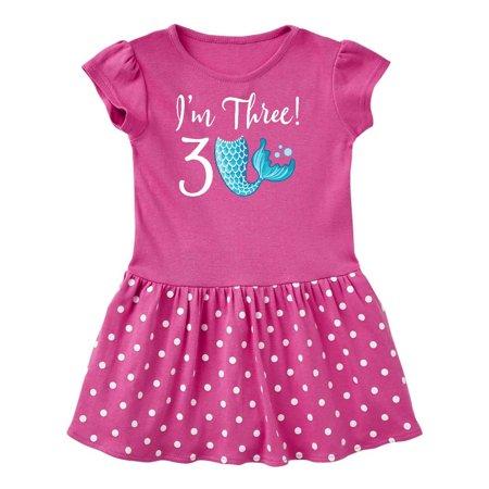 3rd Birthday Mermaid Party Toddler Dress
