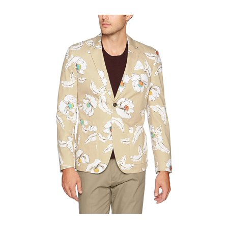 Jack Spade Mens Poppy Flower Sport Coat - Flower Blazer