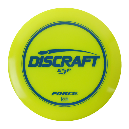 Force Disc - Discraft ESP Force 170-172g Distance Driver Golf Disc [Colors may vary] - 170-172g