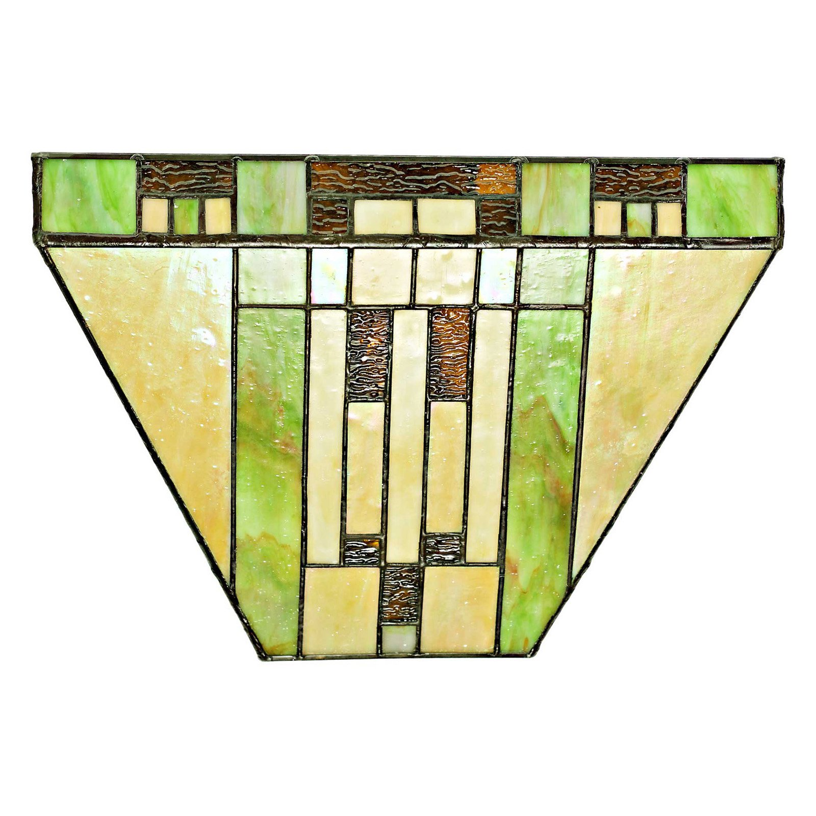 River of Goods Stained Glass Cactus 15049S LED Wireless Wall Sconce
