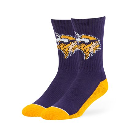 Fan Favorite NFL Anthem Crew Socks, Minnesota Vikings](Nfl Am Crew Halloween)