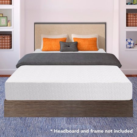 best price mattress 10 inch memory foam mattress multiple sizes. Black Bedroom Furniture Sets. Home Design Ideas