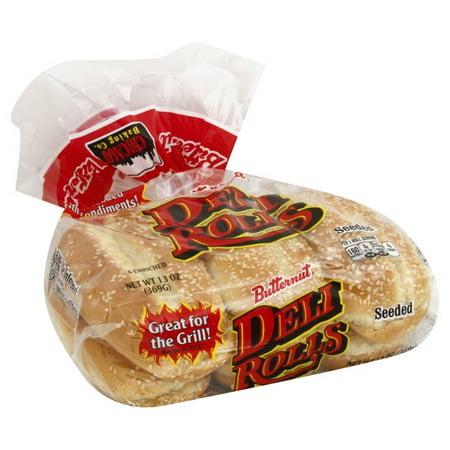 Butternut Enriched Seeded Deli Rolls, 12 5 oz - Walmart com