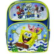 "Small Backpack - SpongeBob SquarePants - Smooth Sailing 12"" New 008990"