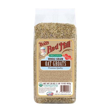 Grain Millers Oats (Bob's Red Mill Organic Whole Grain Oat Groats, 29-ounce 29 Ounce )