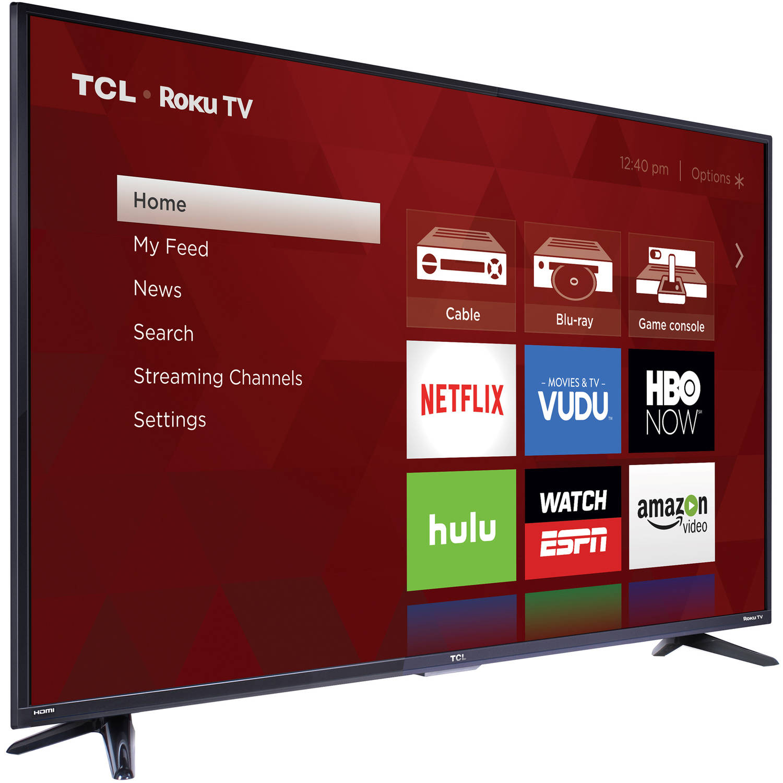 Tcl 55us57 55 2160p Hd Ultra 4k 120hz Roku Smart Led Hdtv 108 Top