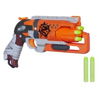 Nerf Zombie Strike Hammershot Blaster with 5 Nerf Zombie Strike Darts