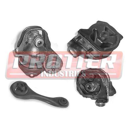 1993 Honda Accord Engine Mount Set - w/ Automatic Transmission Mount | Brand New
