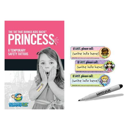 Princess Safety Tattoo