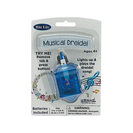 Plastic Dreidel - Musical Dreidel
