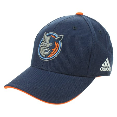 Adidas NBA Youth Charlotte Bobcats Basic Structured Adjustable Strap Cap, Navy (Charolette Bobcats)