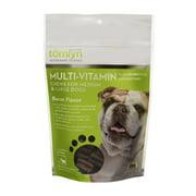 Tomlyn Multi-Vitamin Bacon Flavor Chews for Medium & Large Dogs, 30 Chews
