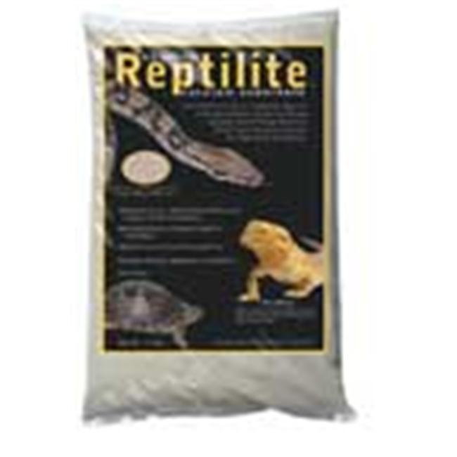 Caribsea Reptilite Natural White 10 Pounds - 00710 Pack Of 4