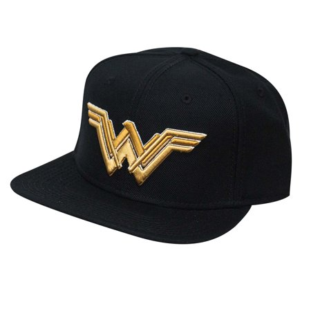 Wonder Woman Embroidered Logo Snapback - Wonder Woman Hat