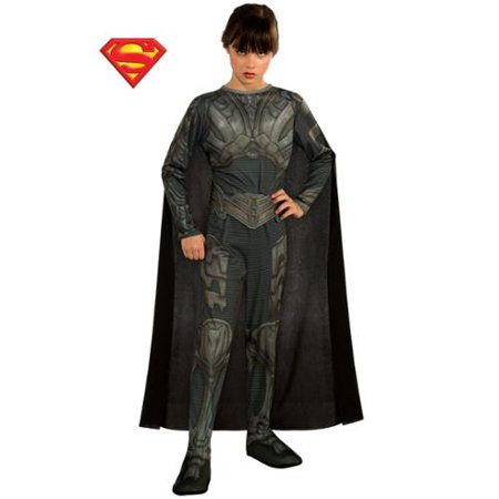 Girl's Faora From Superman Man of Steel Tween Costume - Size SMALL
