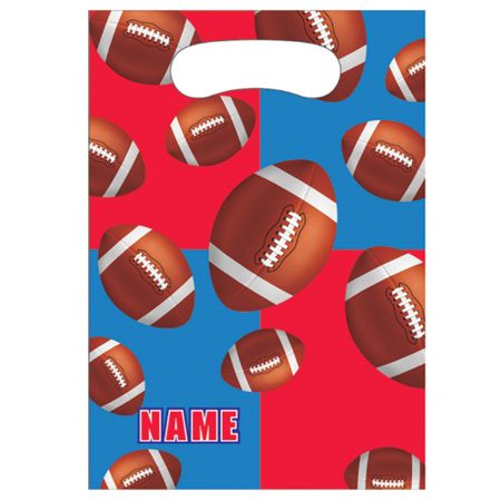 All Star Football Favor Bags (8ct)