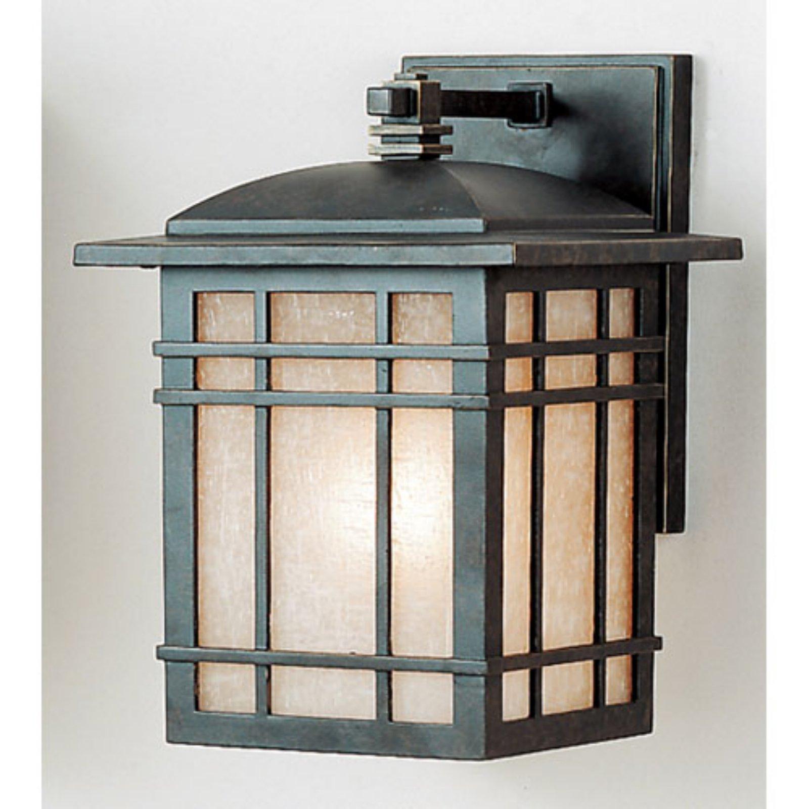 Quoizel Hillcrest HC8407IB Outdoor Wall Lantern