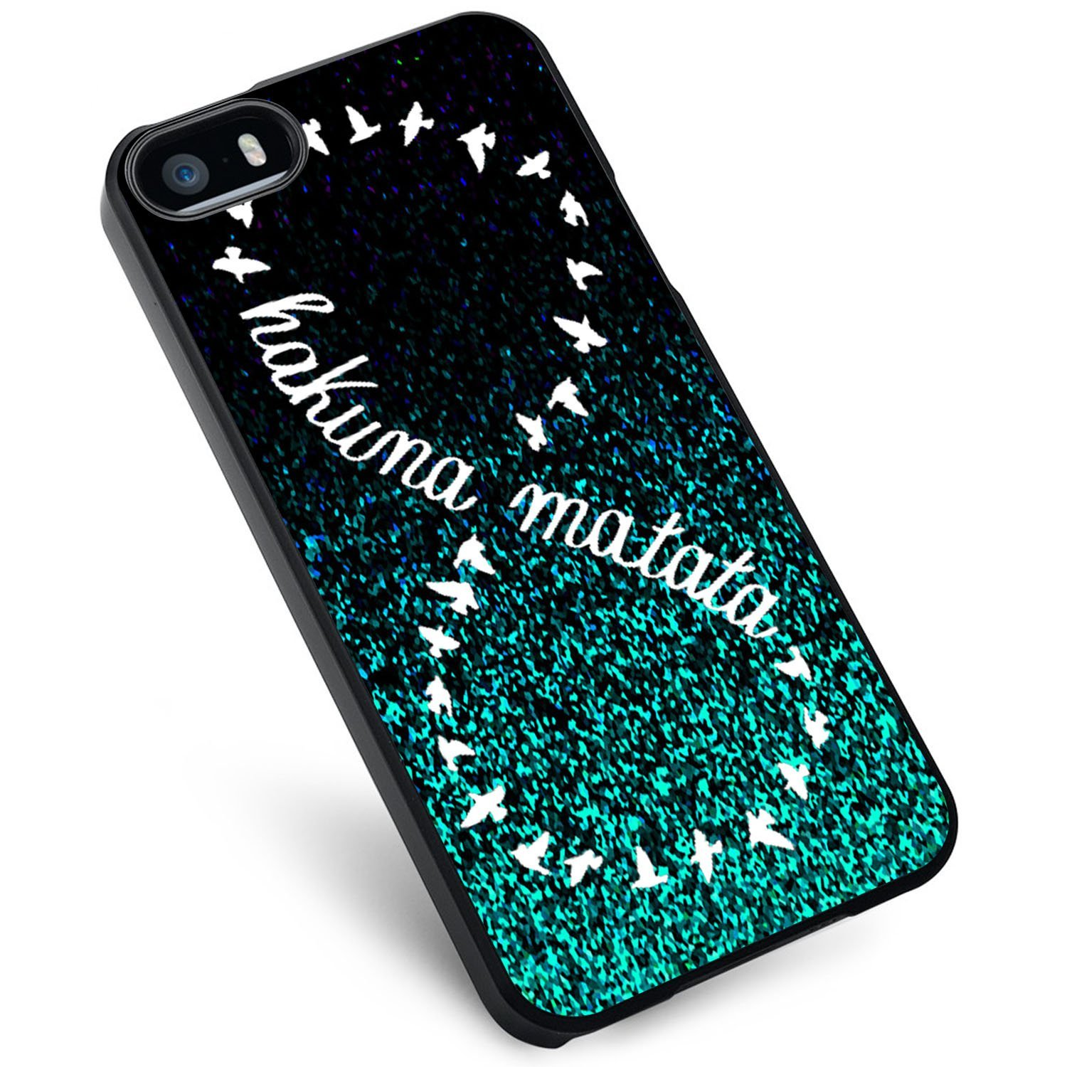 Ganma Infinity Hakuna Matata Blue Mint Case For iPhone and Case For Samsung Galaxy Case (Case For iPhone 6 black)