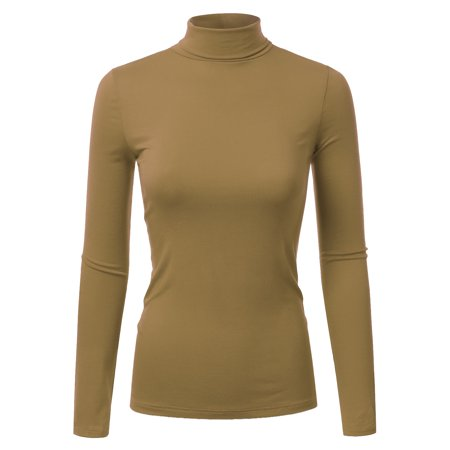 614a6e00815 Doublju Women s Long Sleeve Turtleneck Lightweight Pullover Top Sweater  Plus Size ANTIQMAUVE 3X Plus Size - Walmart.com