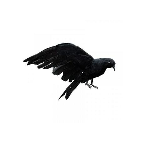 Halloween Decorations Props Sale (Topumt Halloween Fake Black Crow Artificial Bird Prop Party)