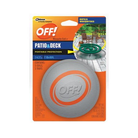 Off  Mosquito Coil Patio   Deck Country Fresh Scent   3 Ct