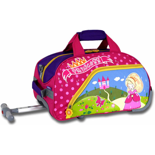"J World Princess Kids' 17"" Rolling Duffel Bag"