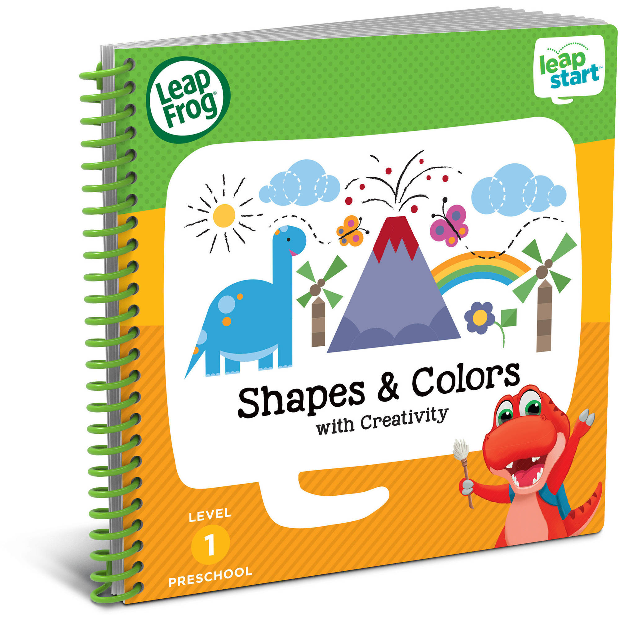 LeapFrog LeapStart Preschool Activity Book: Shapes & Colors and Creativity