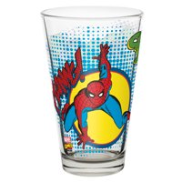 Marvel Comics Juice Glass - Spider-Man & Hulk by Zak!