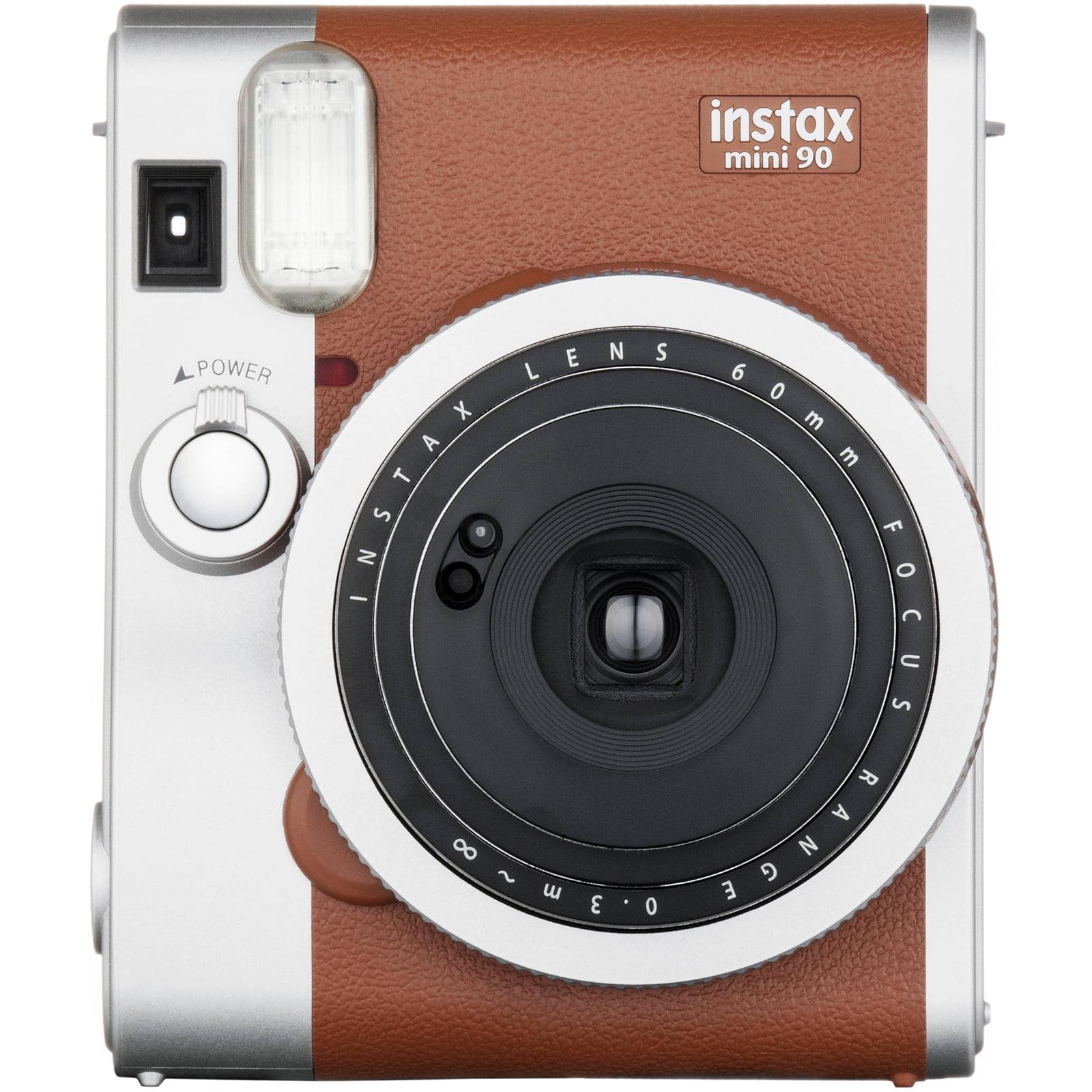 FujiFilm INSTAX Mini 90 Neo Classic Instant Camera (Brown) by Fujifilm