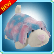 "Authentic Pillow Pets Cotton Candy Dog Large 18"" Plush Toy Gift"