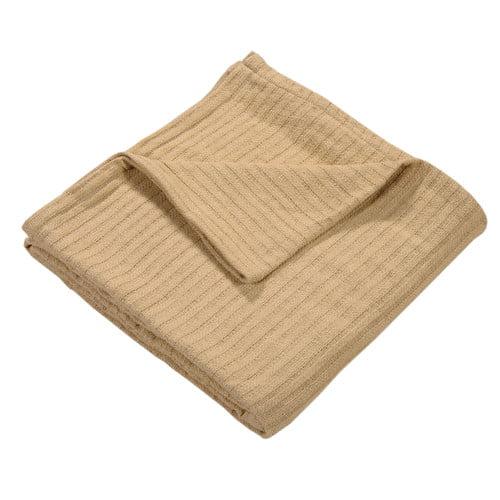 Gracie Oaks Loc Woven 100pct Cotton Throw Blanket