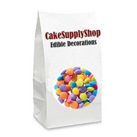 Neon Bright Cake & Cupcake Decoration Confetti Quins - Neon Cake Sprinkles