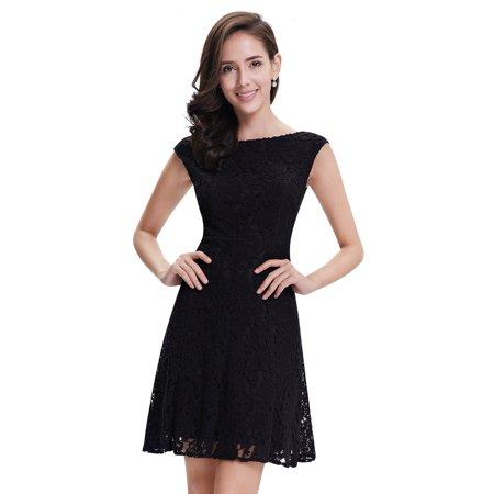 AlisaPan Lace Party Dresses for Women Sext Short Cocktail Dress 05331 ()