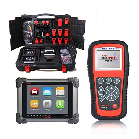 Autel Maxisys Pro MS908P Vehicle Diagnostics System With Free MaxiTPMS  TS601 Testing Scanner