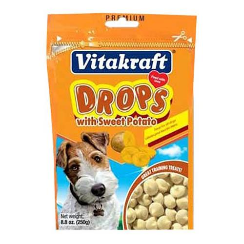 Vitakraft Dog Drops with Sweet Potato Multi-Colored