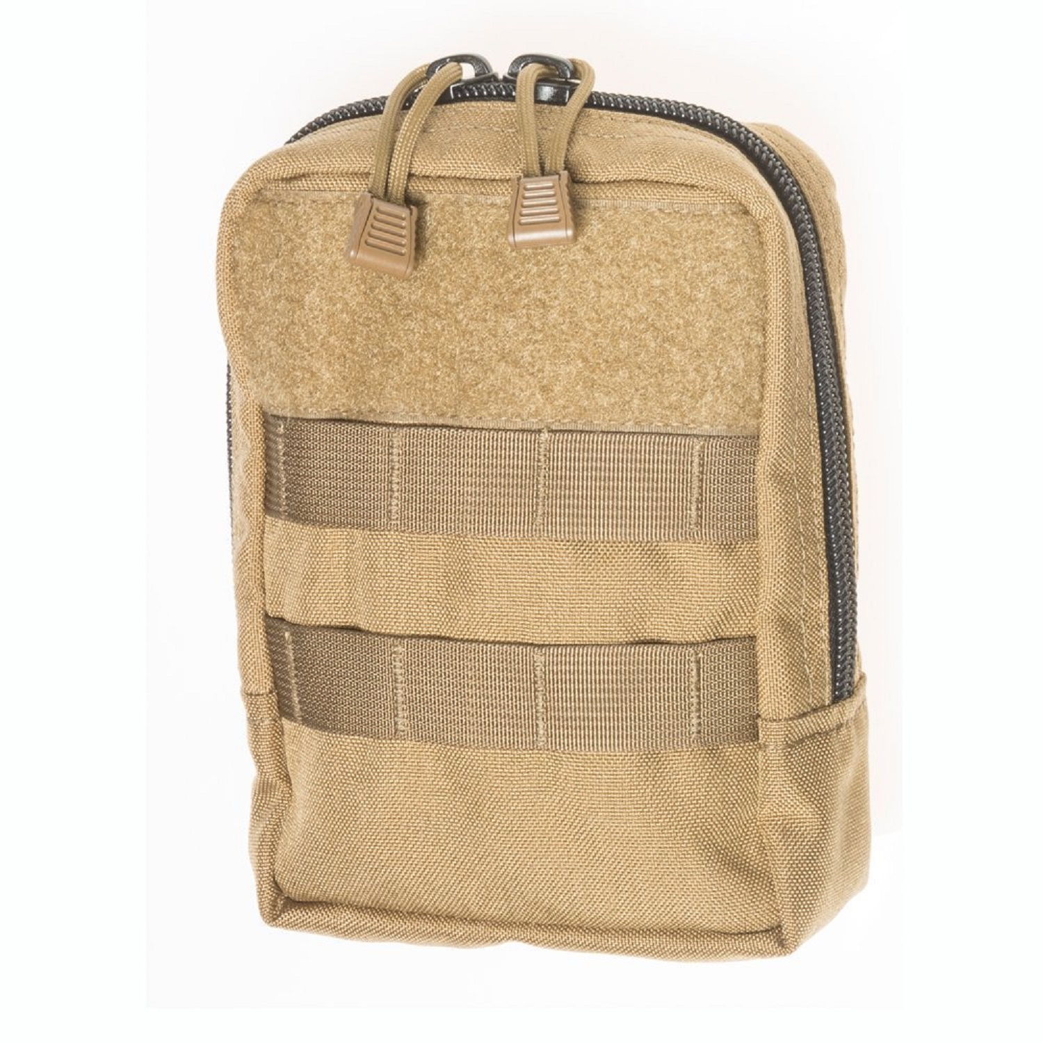 Tac Shield Vertical Organizer Molle Pouch Coyote