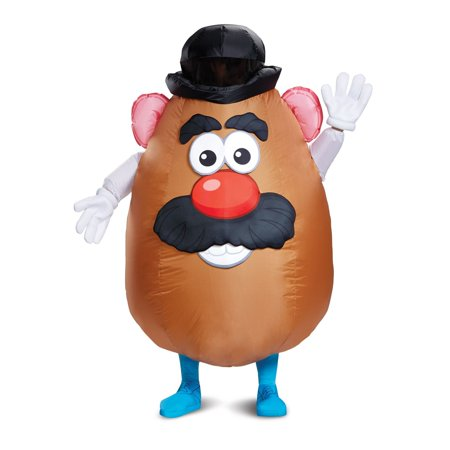 Halloween Toy Story: Mr. Potato Head Inflatable Adult Costume - Toy Story Halloween Costumes Adults