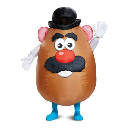 HASBRO MR. POTATO HEAD INFLATABLE ADULT COSTUME](Potato Costume)